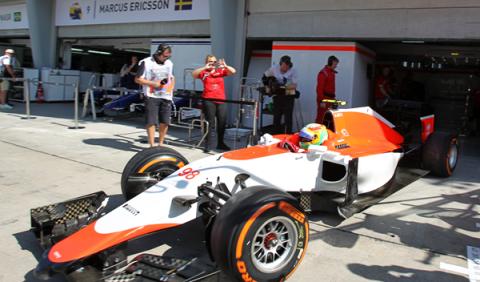 Manor F1 y Roberto Merhi debutan en el GP de Malasia
