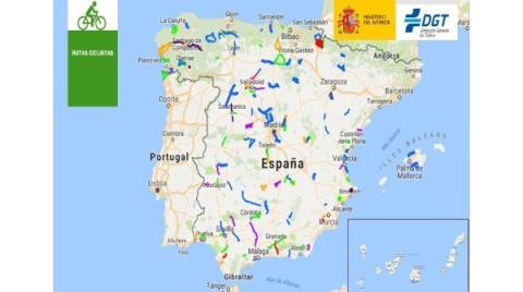 Mapa Rutas Ciclistas Seguras