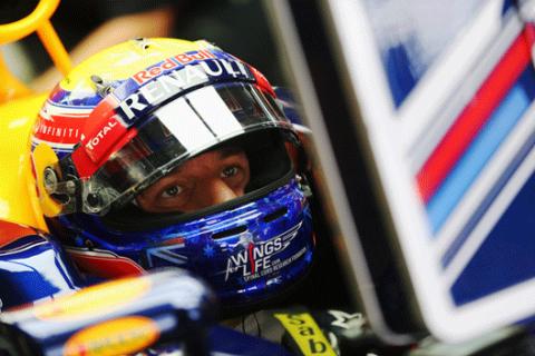 Mark Webber - Red Bull - Corea 2012