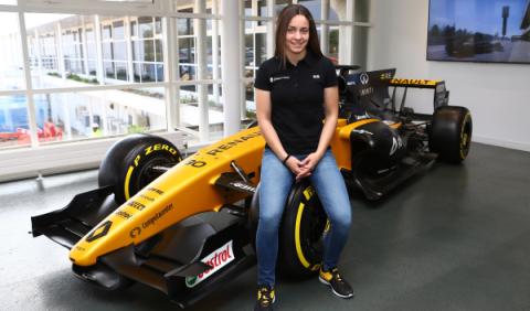 Marta García, nueva incorporación de la Academia Renault