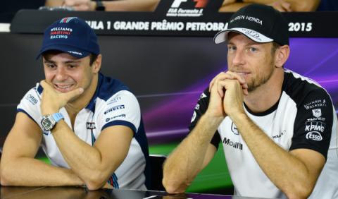 Massa y Button podrían luchar por un asiento en Williams