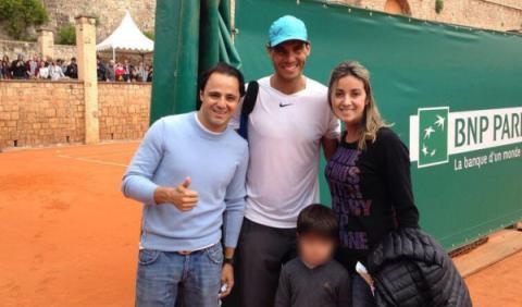 Massa conoce a Rafa Nadal en el Masters 1000 de Montecarlo
