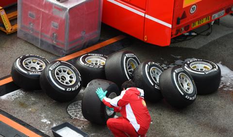 Massa cree que el secreto de Ferrari está en los neumáticos