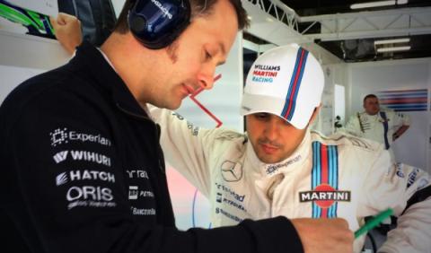 """Massa: """"Estoy muy feliz, por mí y por Willams"""""""