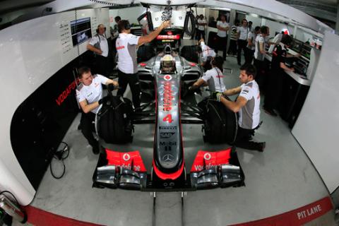 McLaren - box