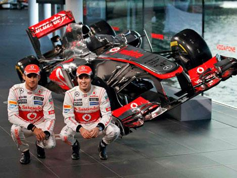 McLaren MP4-28 Jenson Button Sergio Perez
