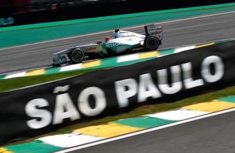 Michael Schumacher - Mercedes - GP Brasil