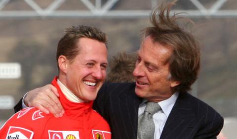 "Montezemolo: ""Schumacher saldrá de ésta"""