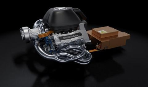 El motor Mercedes V6 Turbo de Fórmula 1 mete miedo