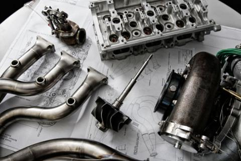 Motor Renault V6 Turbo 2014