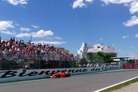Muro de los campeones - GP Canada