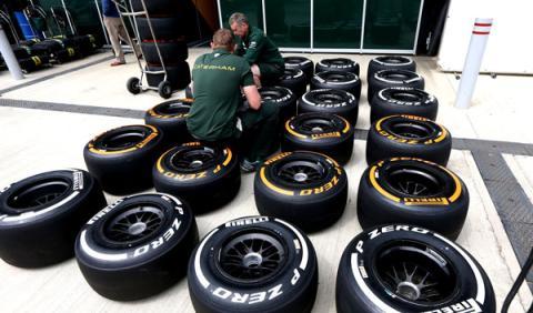 Neumáticos Pirelli GP Bélgica