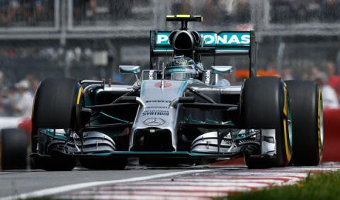 Nico Rosberg se muestra aliviado por el podio en Canadá