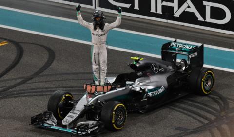 Nico Rosberg, el piloto que dejó de estar en la sombra