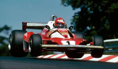 Niki Lauda Ferrari Alemania 1976