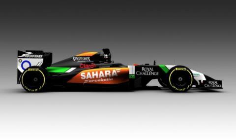 Nuevo Force India VJM07 de Fórmula 1 para 2014