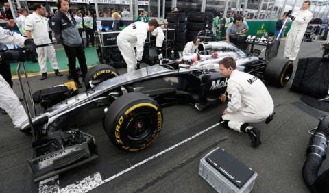 Los nuevos frenos de la Fórmula 1 'brake-by-wire'