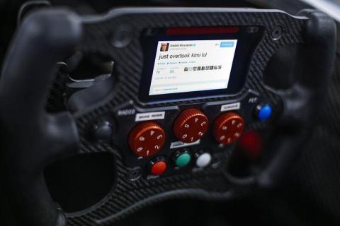 ¿Los nuevos volantes de F1 estarán conectados a Twitter?