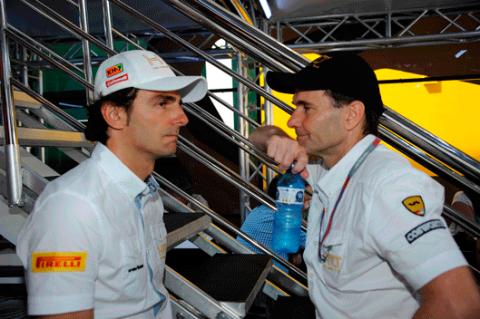 Pedro de la Rosa - HRT - GP Canadá 2012