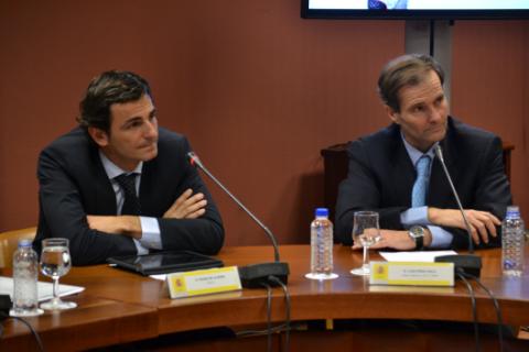 Pedro De la Rosa y Luis Pérez Sala