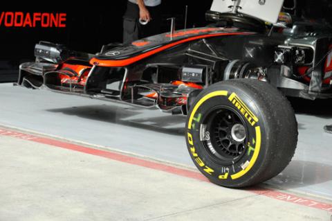 Pirelli - McLaren - Bahréin