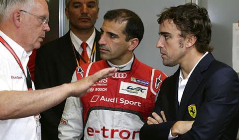 Porsche podría fichar a Alonso para las 24 Horas de Le Mans