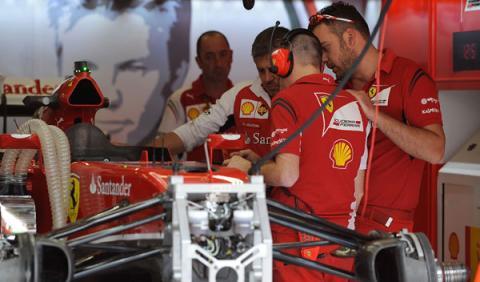 El problema de Ferrari está en el turbo