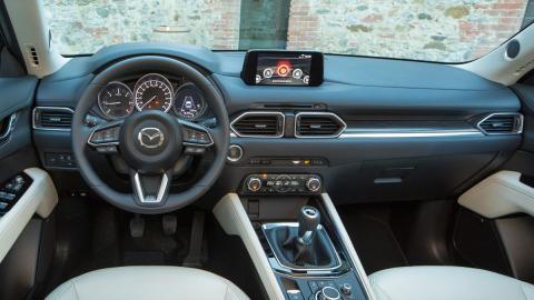 Prueba Mazda CX-5 (interior)