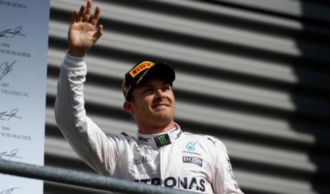 ¿Por qué pitan a Rosberg tras ganar en Spa-Francorchamps?