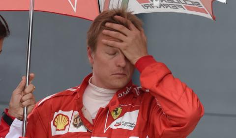A Räikkönen le gustaría retirarse de la F1 después de 2015
