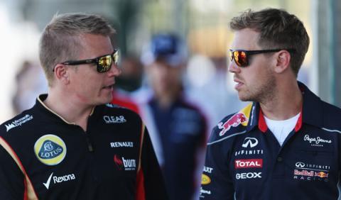 Räikkönen y Vettel tienen el mismo problema esta temporada