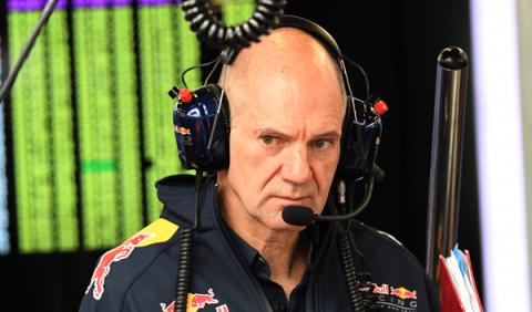Red Bull amenaza: Newey está centrado en el coche de 2017