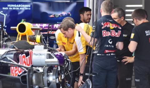 Red Bull montará el motor Renault evolucionado en Brasil