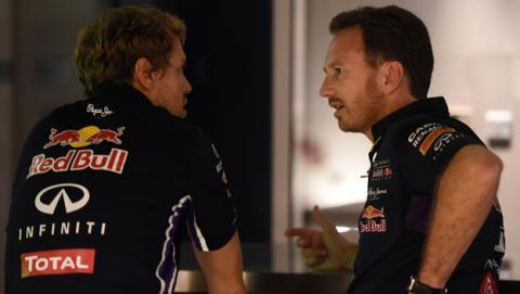 Red Bull prohibe las primeras pruebas de Vettel con Ferrari