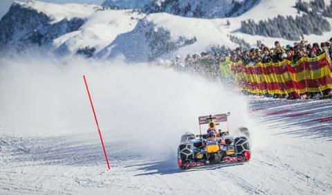 Red Bull puede ser multado tras llevar su f1 a la nieve