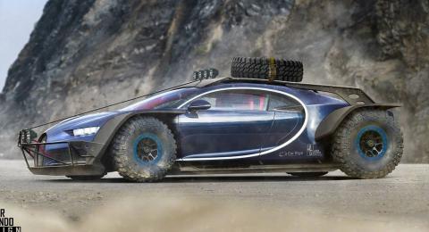 Render Bugatti Chiron
