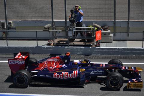 Ricciardo - ToroRosso - GPEspana - 2012