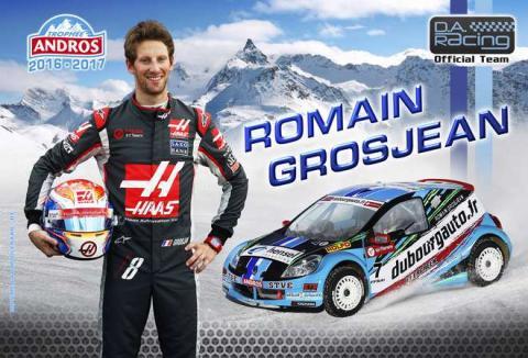 Romain Grosjean cambia los circuitos por la nieve
