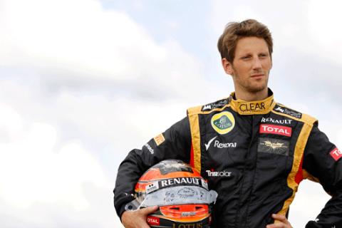 Romain Grosjean - Lotus - Silverstone