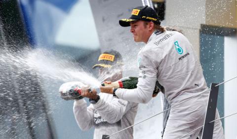 """Rosberg: """"29 puntos son una buena ventaja"""""""