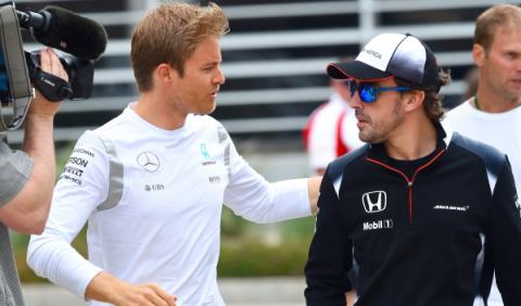 """Rosberg: """"como fan habría elegido a Alonso para Mercedes"""""""