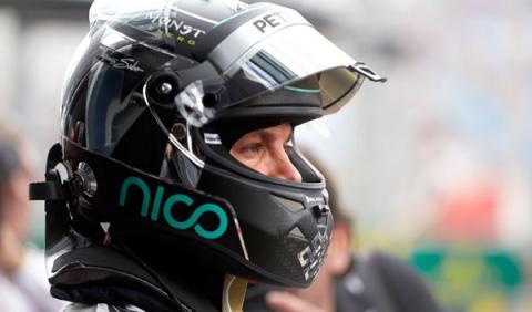 """Rosberg: """"Contento, porque tuve una buena salida"""""""
