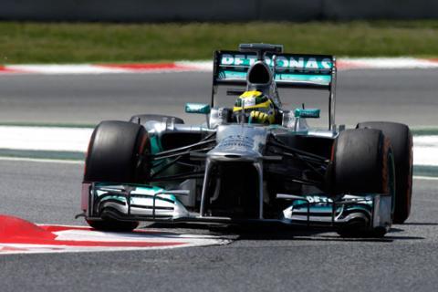 Rosberg -  Mercedes -  Montemelo