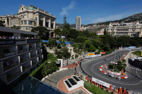 Rosberg - Monaco 2012