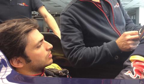Sainz calienta motores ante su segunda temporada en F1