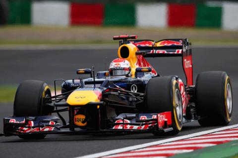 Sebastian Vettel - Red Bull - GP Japon