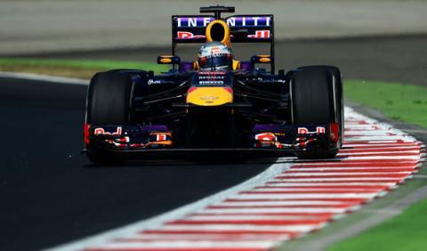 Sebastian Vettel - Red Bull - Hungria
