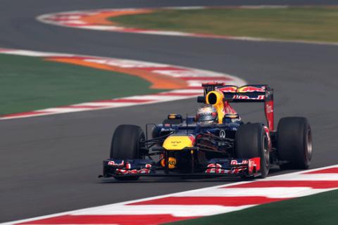 Sebastian Vettel - Red Bull - India 2012