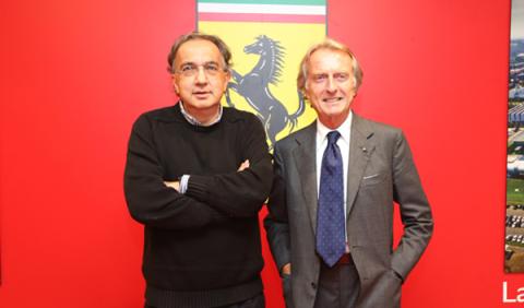 Sergio Marchionne augura un 2015 difícil para Ferrari