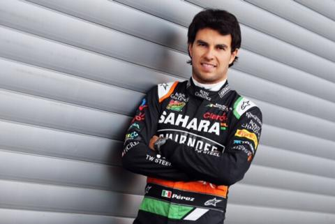 Sergio Pérez renueva con Force India para 2015